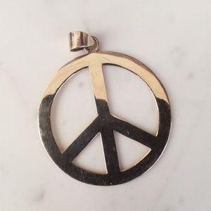 Silver PEACE Pendant